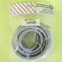 "1/4 COMP x 120"" IM STAINLESS STEEL HOSE FOR REFRIGERATOR PAR"
