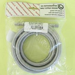 "1/4 COMP x 84"" IM STAINLESS STEEL HOSE FOR REFRIGERATOR PART"