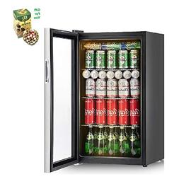 120 Can Beverage Refrigerator Cooler By SpiritOne + GIFT Coc