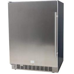 5.49 Cu. Ft. EdgeStar 142 Can Stainless Steel Beverage Coole