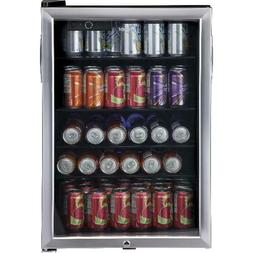 Haier 150 Can Locking Beverage Center Cooler Mini Fridge Ref