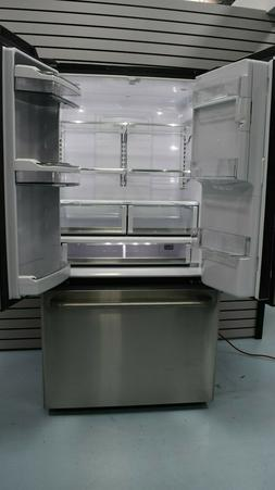 """GE 22"""" Counter Depth Stainless Steel French Door Refrigerato"""