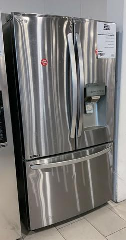 LG 22 Cu. Ft. Stainless Counter Depth French Door Refrigerat