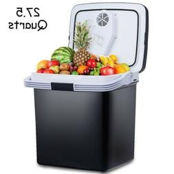 26L Portable 12V Electric Cooler Fridge Food Warmer CAR Trav