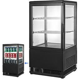 2cu.ft. Commercial Display Cabinet Refrigerator 180W Black D