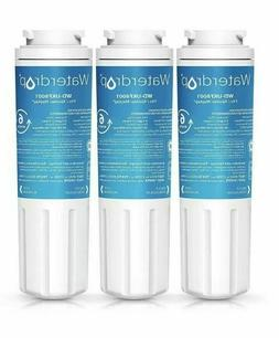 3 Pack Waterdrop UKF8001 Refrigerator Water Filter, Compatib