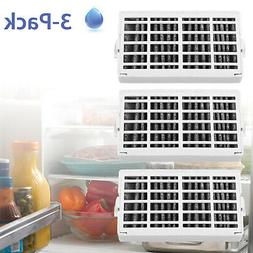 3-Pack Fresh Flow Comparable Refrigerator Air Filter for Whi