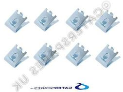 8 x TRUE 831600 SHELF SUPPORT RAISED TAB PILASTER CLIPS FOR