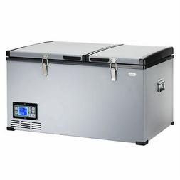 84-Quart Portable Electric Car Cooler Refrigerator / Freezer