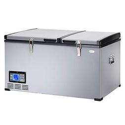 Costway Portable Compact Car Travel Refrigerator Freezer Ele