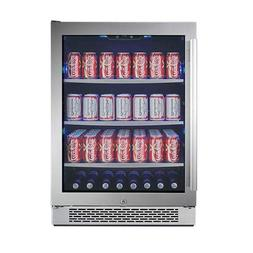 """Avallon ABR241SGRH 152 Can 24"""" Built-in Beverage Cooler - Ri"""