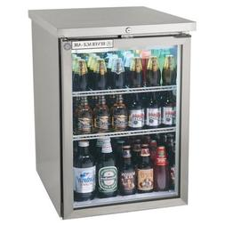 "Beverage-Air BB36G-1-S 36"" One Glass Door Back Bar Refrigera"