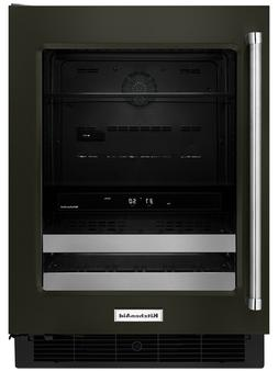 Kitchenaid - 14-bottle Wine Cooler - Black Stainless
