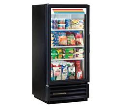 True GDM-10-HC-LD Glass Swing Door Refrigerator W/ LED Light