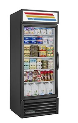 True GDM-26-HC-LD Glass Swing Door Refrigerator W/ LED Light