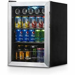 AB-850 Beverage Refrigerators 90 Can Stainless Steel Applian