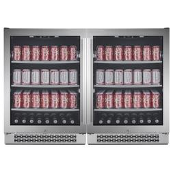Avallon ABR241SGDUAL Built-In 48 Inch Wide 304 Can Capacity