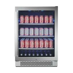 Avallon ABR241SGLH 24in Wide Beverage Center with Left Swing