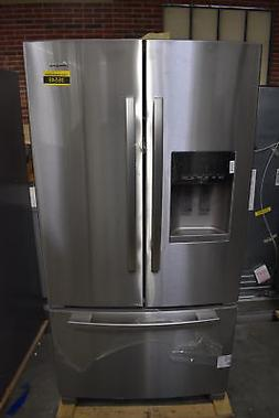 "Amana AFI2539ERM 36"" Stainless French Door Refrigerator NOB"