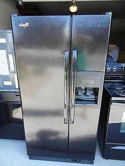 BLACK NEW WHIRLPOOL ENERGY STAR 21.7 REFRIGERATOR ICE MAKER