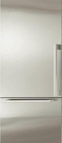"Brand New Miele Energy Star 36"" Bottom Mount Integrated Refr"