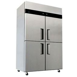 Commercial Refrigerator / Freezer Combo Stainless Steel 4 Do