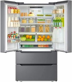 Counter Depth Refrigerator French Door Freezer Side-by-Side
