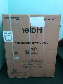 HAIER DUAL-DRAWER REFRIGERATOR NEW IN BOX!