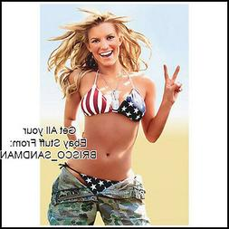 Fridge Fun Refrigerator Magnets JESSICA SIMPSON USA BIKINI