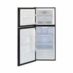 HAIER FrostLess 10 Cub' Refrigerator & Top Freezer BLACK. Se