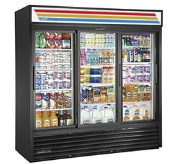 True GDM-69-HC-LD Sliding GLASS Door Merchandiser REFRIGERAT