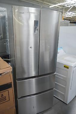 "Haier HRF15N3AGS 28"" Stainless French 4 Door Refrigerator NO"