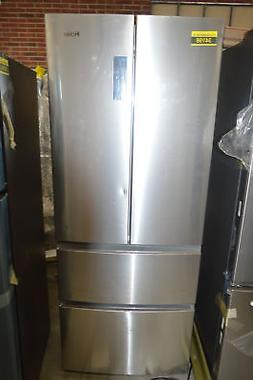 "Haier HRF15N3AGS 28"" Stainless French Door Refrigerator NOB"