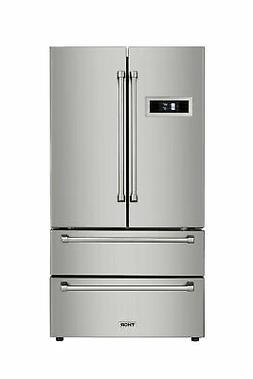 Thor Kitchen HRF3601F 36 Inch Wide 21 Cu. Ft. Capacity Frenc