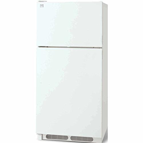 Kenmore 60022 cu. Top-Freezer includes and hookup, White