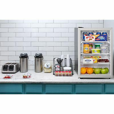 Danby 2.6 Steel Fridge Compact Stainless