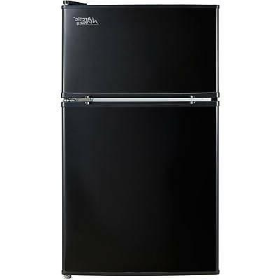 3.2 Cu Ft Fridge Mini Refrigerator Freezer Cooler 2-Door Com