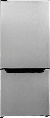 Insignia- 4.1 Cu. Ft. Mini Fridge with Bottom Freezer - Stai