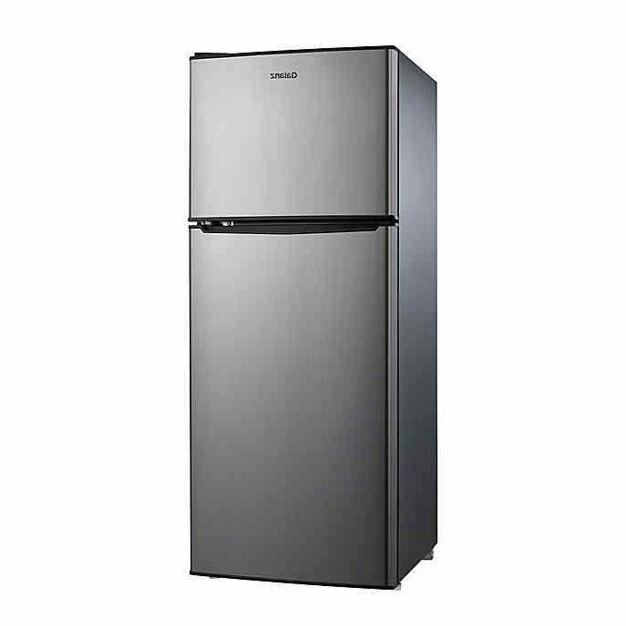 4 6 cu ft 2 door stainless