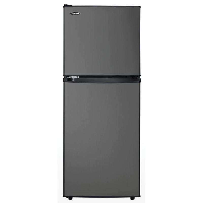 Danby 4.7 Cu-Ft. 2-Door Mini Refrigerator in Black Stainless