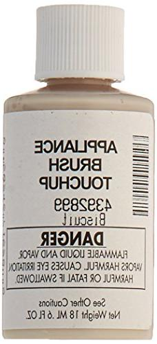 Whirlpool 4392899 Biscuit Acrylic Touch Up Paint Bottle, Bis