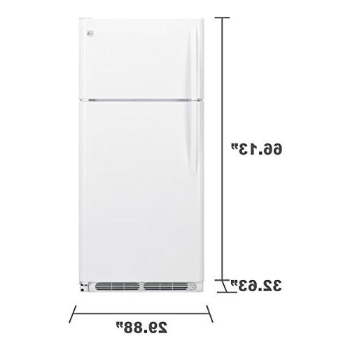 Kenmore 60412 ft. Top-Freezer in White, includes delivery hookup