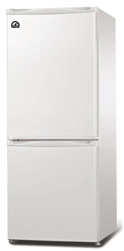 9.2 Cubic Foot Fridge with Bottom Mount Freezer, Auto Defros