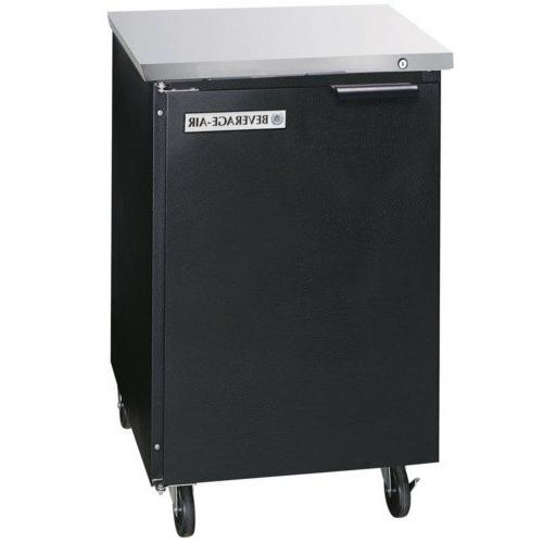 "Beverage-Air BB36F-1-S 36"" One Solid Door Food Rated Back Ba"