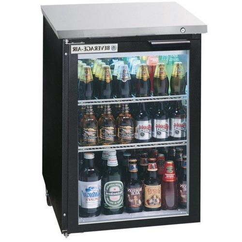 """Beverage-Air BB36GF-1-S 36"""" One Glass Door Food Rated Back B"""