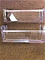 Edgewater Parts 240323002 Set Of 2 Clear Bin Compatible With