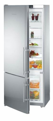 Liebherr CS1400 14.0 Cu. Ft. Gray Counter Depth Bottom Freez