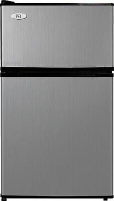 Spt - 3.1 Cu. Ft. Compact Refrigerator - Stainless Steel