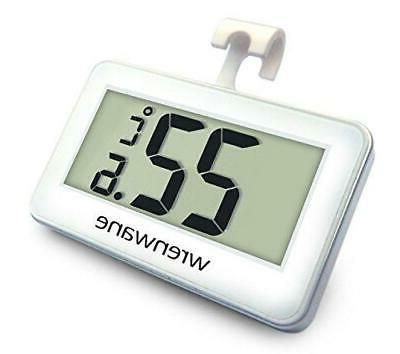 Wrenwane Digital Refrigerator Freezer Room Thermometer, No F