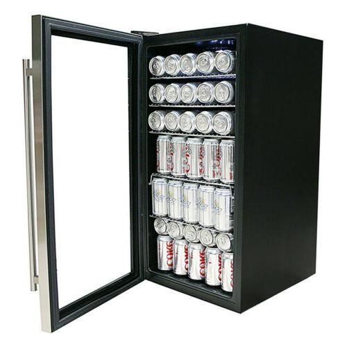 Whynter BR-130SB Beverage with Black/Stainless Steel